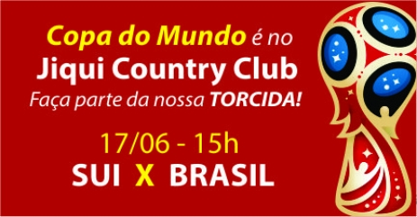 Jiqui vai transmitir a estreia do Brasil na Copa 2018